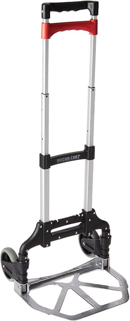 1. Magna Cart Personal Folding Hand Truck by Welcom