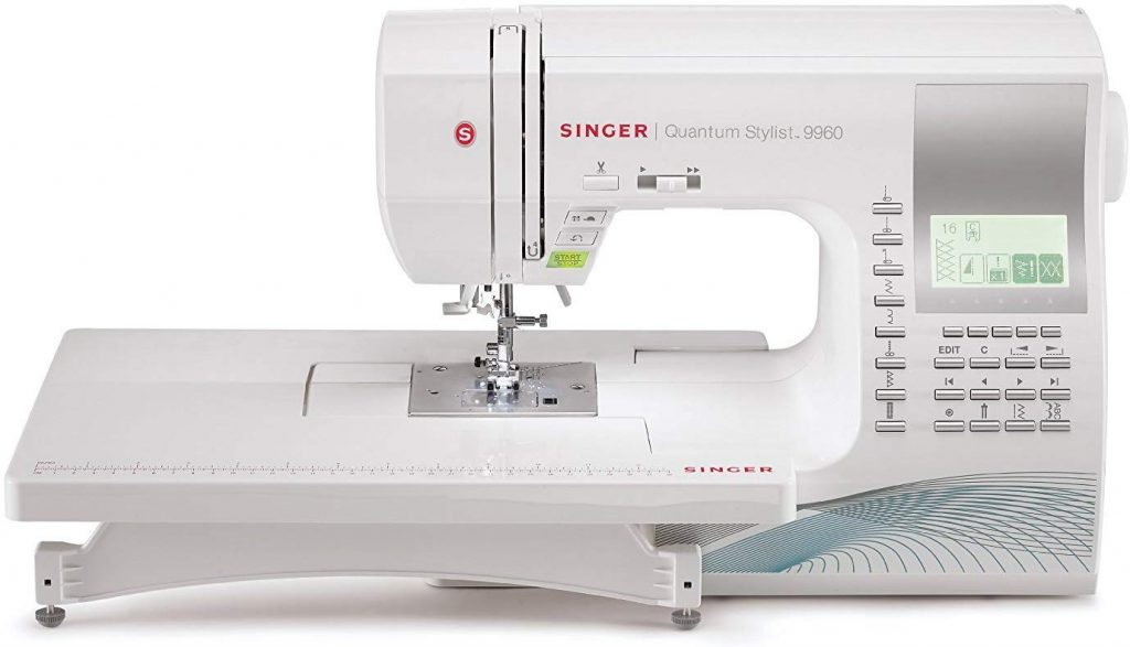 4. SINGER Computerized Portable Sewing Machine
