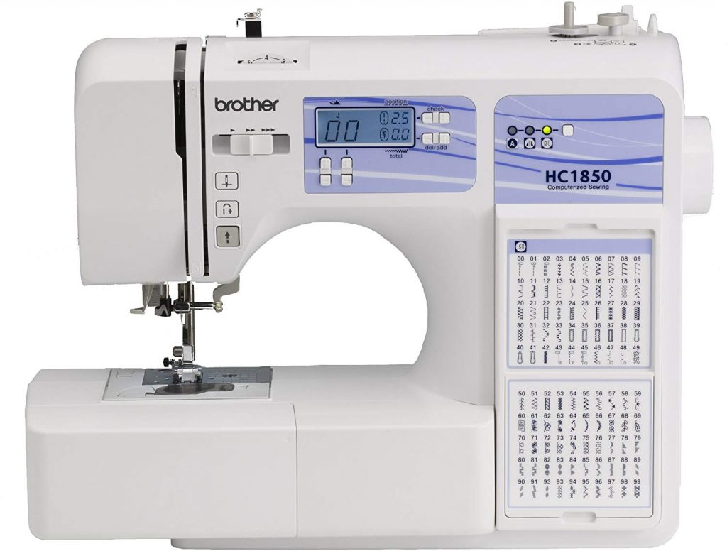 5. Brother Computerized Sewing and Quilting Machine