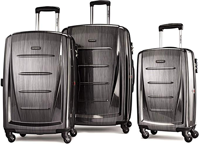 9. Samsonite Winfield 2 Luggage Set with Spinner Wheels
