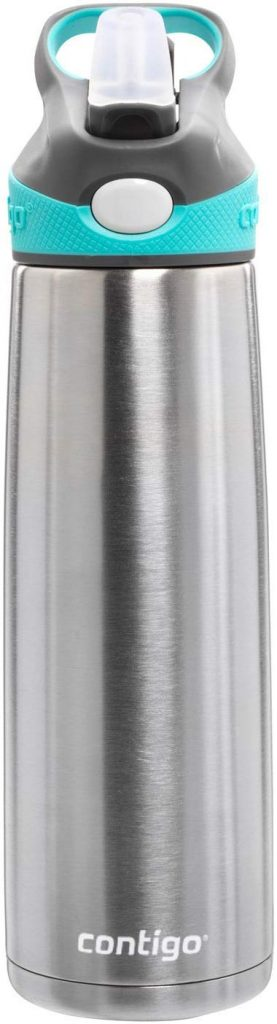 8. Contigo Auto spout stainless steel bottle:
