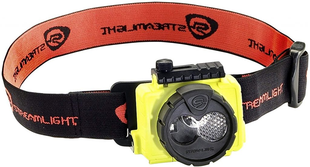 7. Streamlight 61600 Double Clutch USB Rechargeable Headlamp