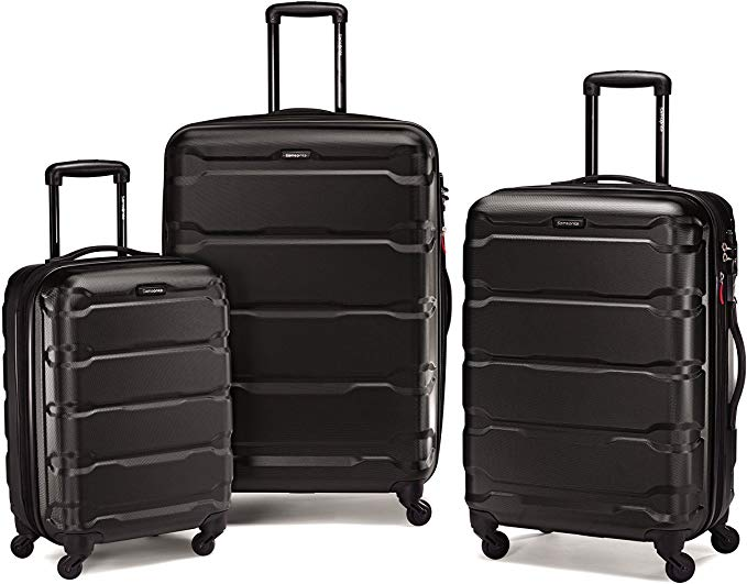 10. Samsonite Omni Hardside Expandable Luggage with Spinner Wheels