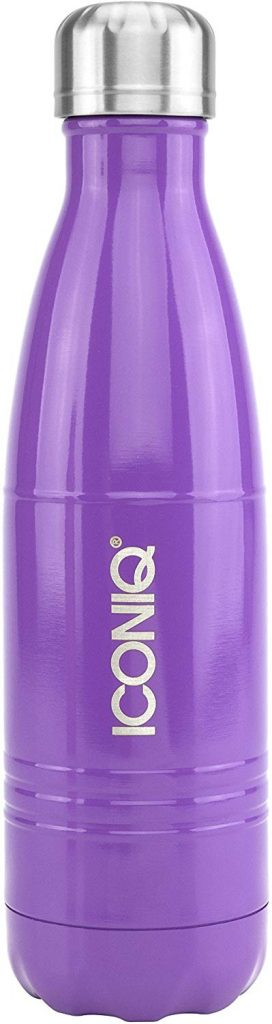 3. Iconiq vacuum insulated stainless steel water bottle: