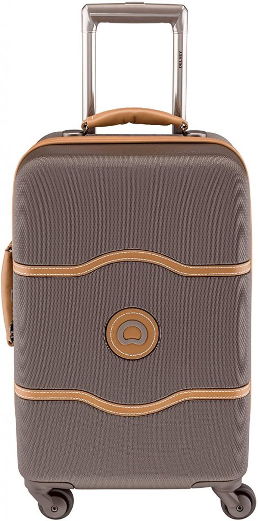 1. Delsey Chatelet Spinner Trolley