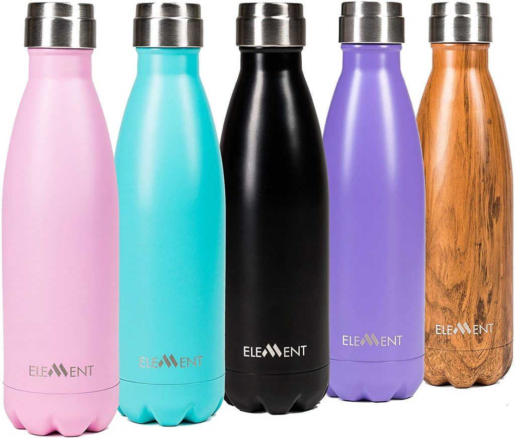 5. Element stainless steel double wall vacuum bottle: