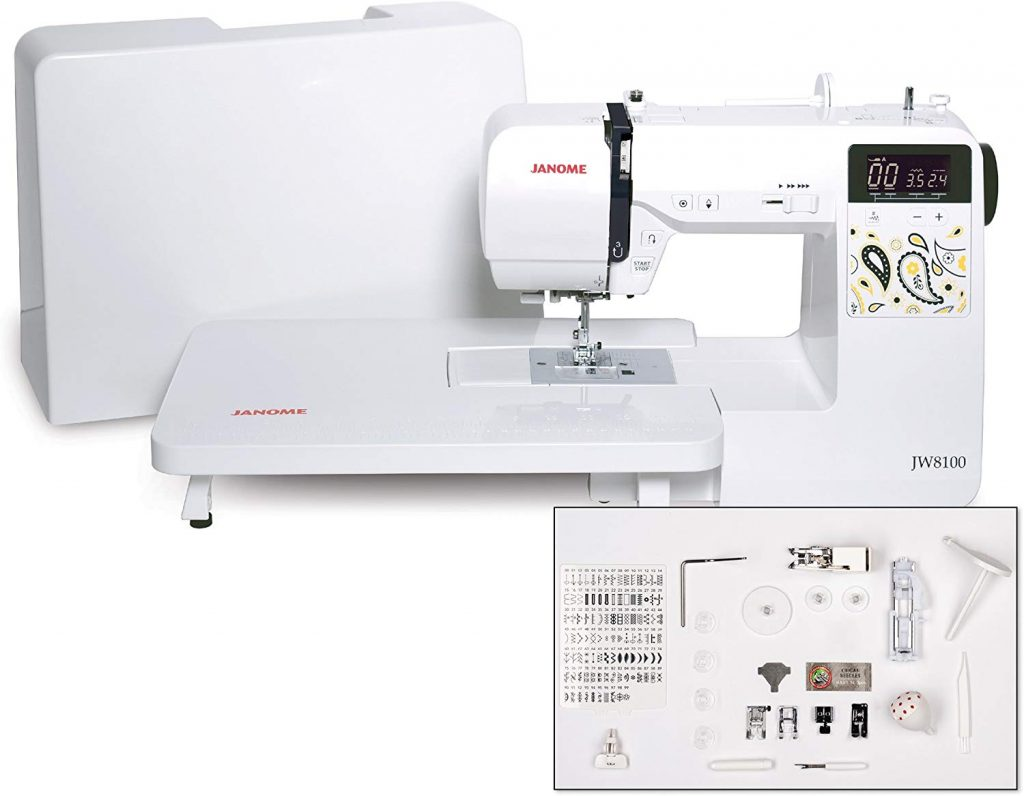 9. Janome Fully-Featured Computerized Sewing Machine