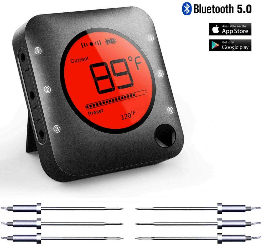 7. Bluetooth Meat Thermometer by Bfour