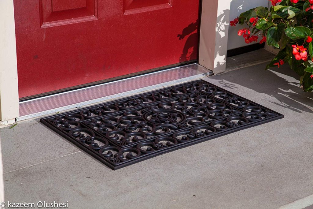 2. Kempf Rubber Scroll Doormat