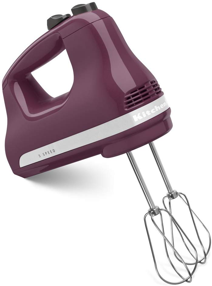 1. KitchenAid 5-Speed Hand Mixer