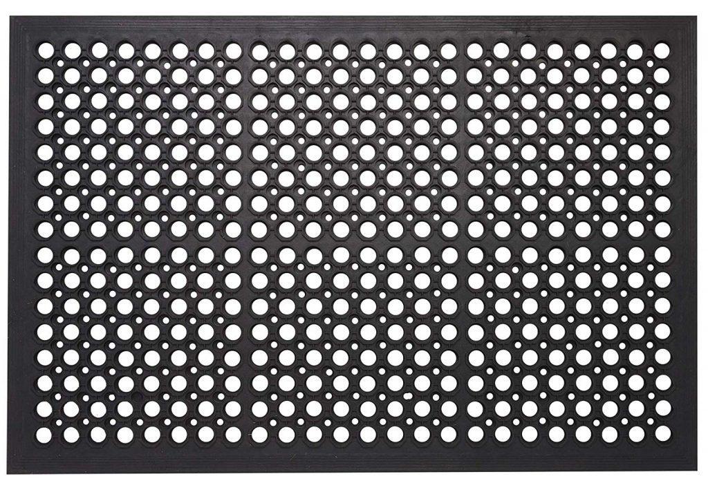 7. Envelor Home and Garden Rubber Door Mat