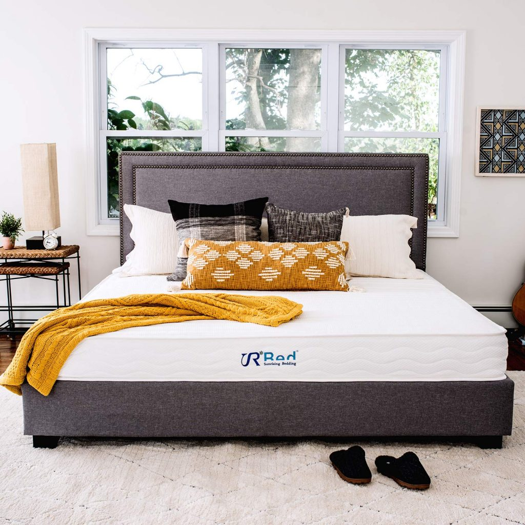 7. Sunrise Bedding natural latex mattress: