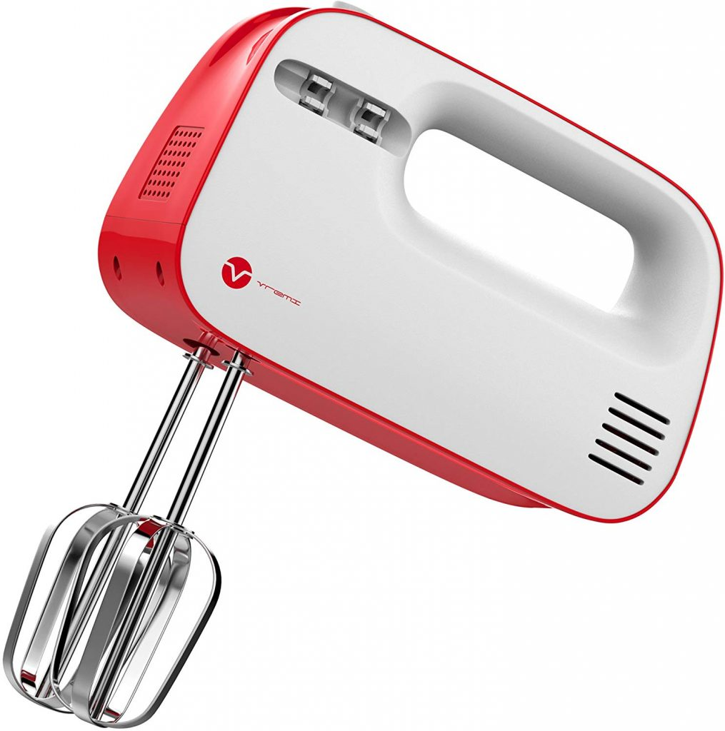 6. Vremi 3-Speed Hand Mixer