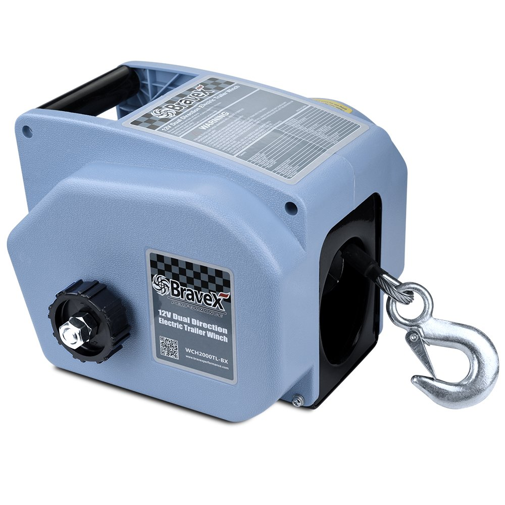 7. Bravex Electric Winch
