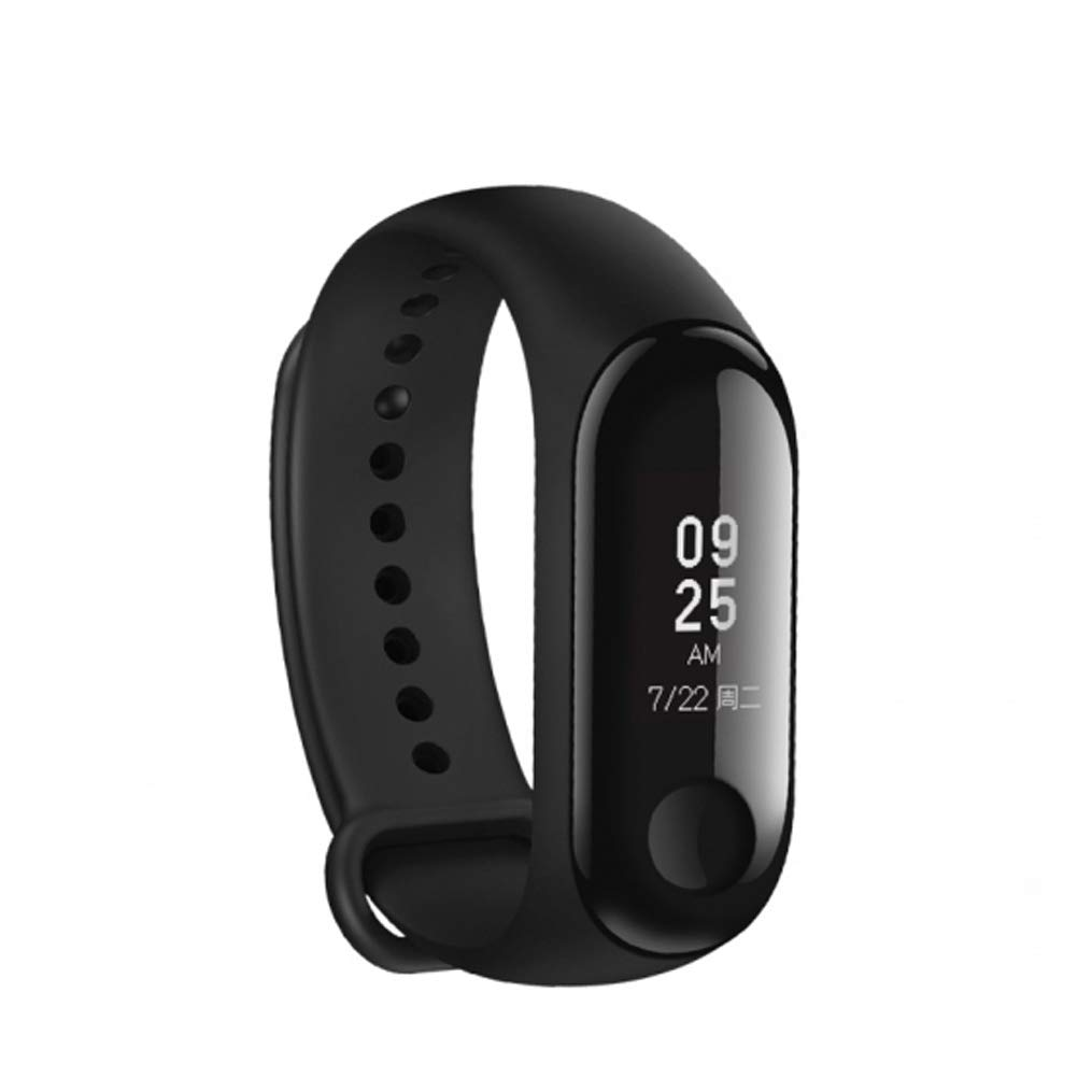 10. Xiaomi Fitness Tracker along with Heart Rate Monitor and OLED Display Touchpad