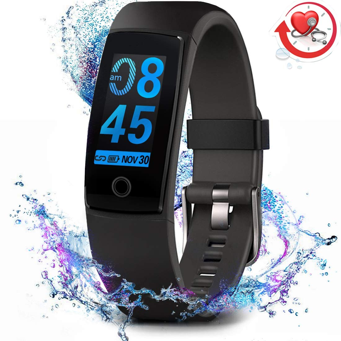 1. MorePro Fitness Tracker for Men, Women, and Children