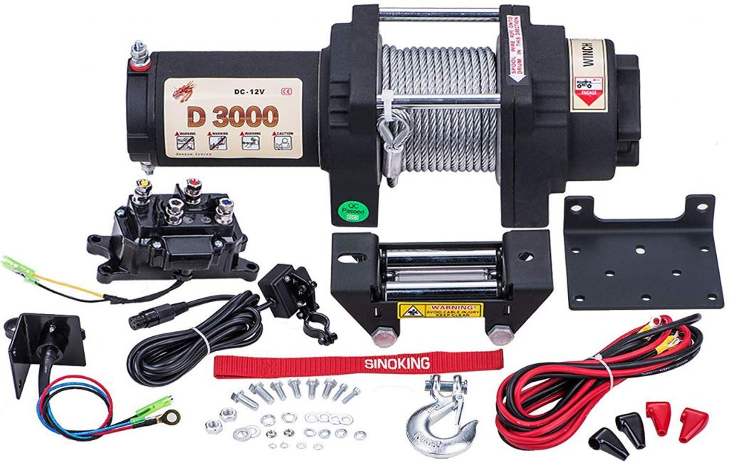 10. Sinoking Waterproof Electric Winch
