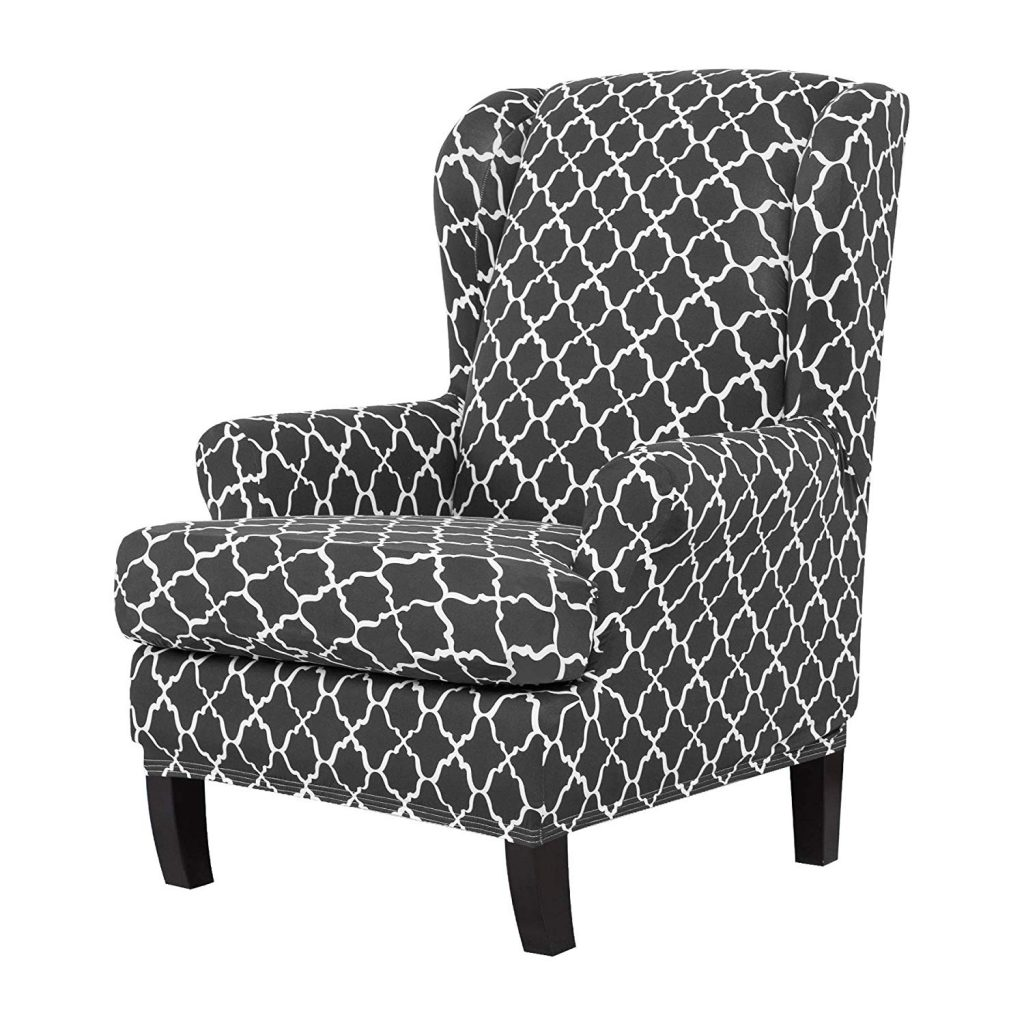 9. TIKAMI Wing Chair Slipcovers
