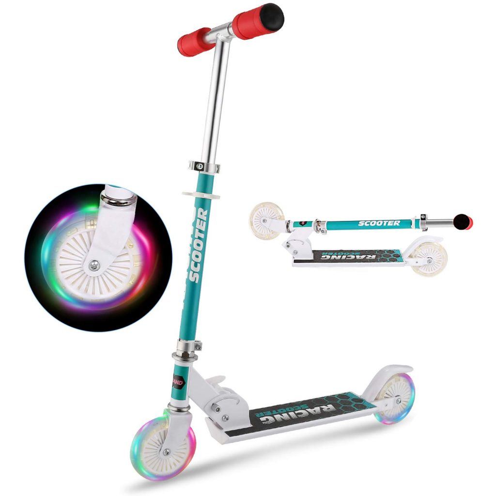 6. YUEBO Kick Scooter for Kids