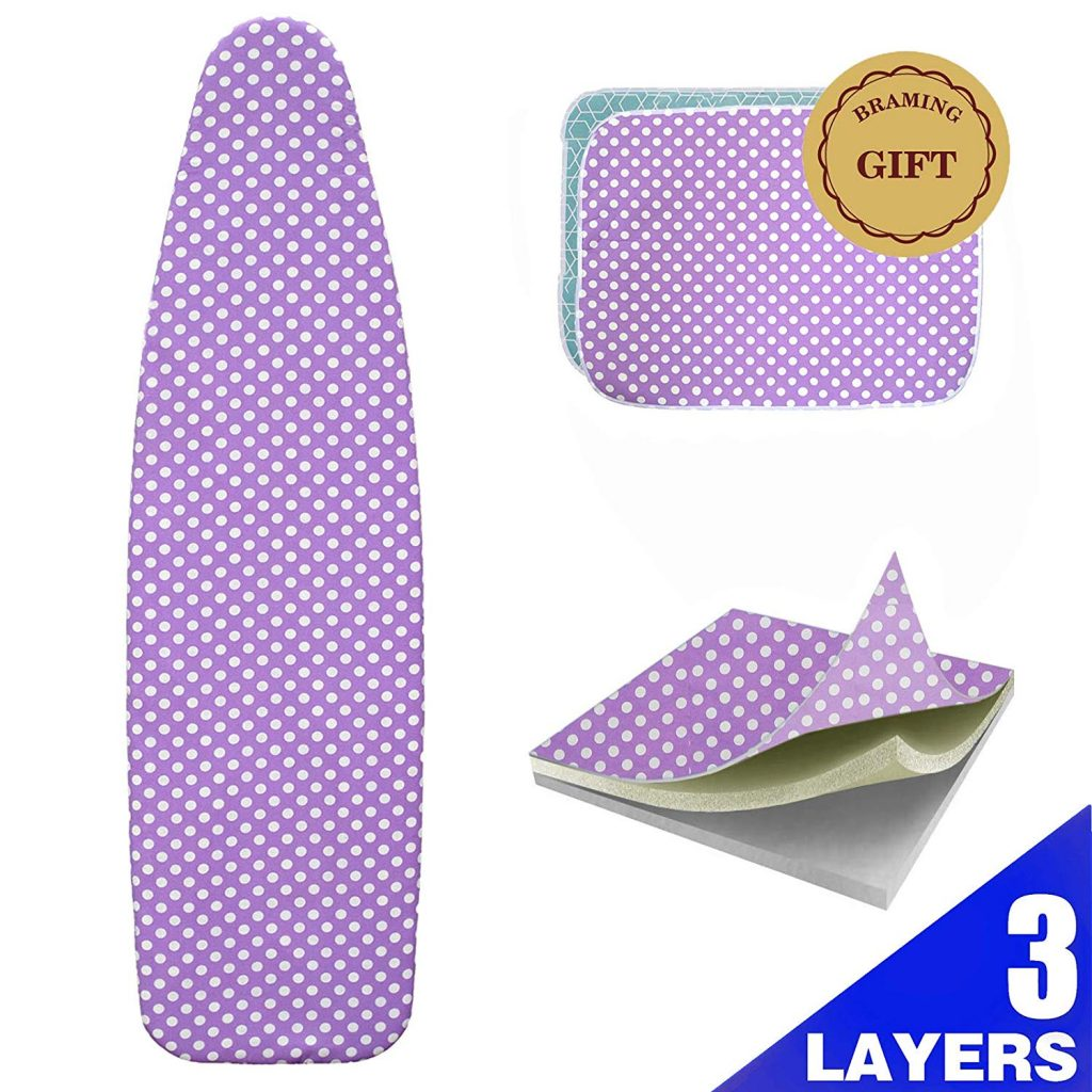 10. BRAMING Ironing Board Cover