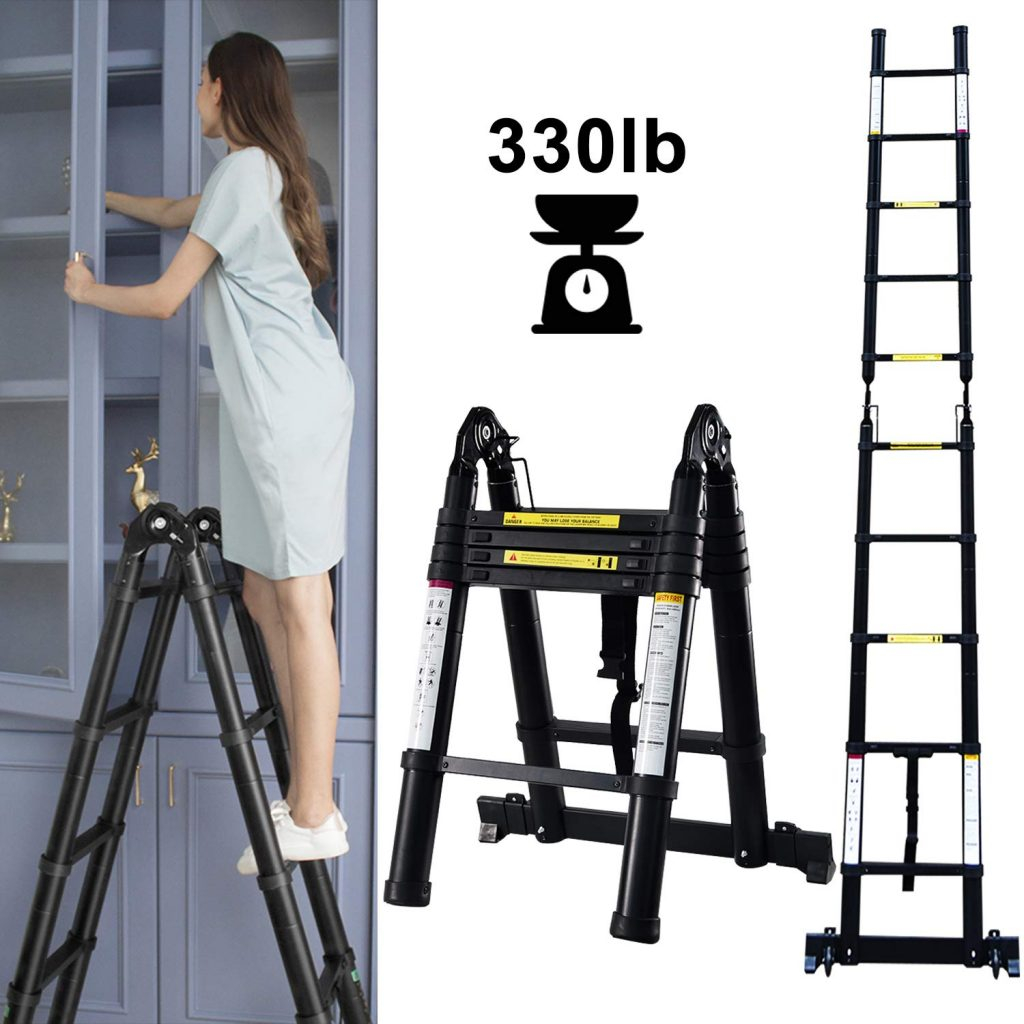 9. Telescoping Extension Ladder by NSdirect