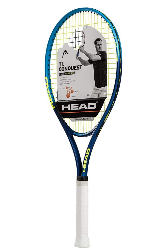 8. HEAD Ti. Conquest Tennis Racket