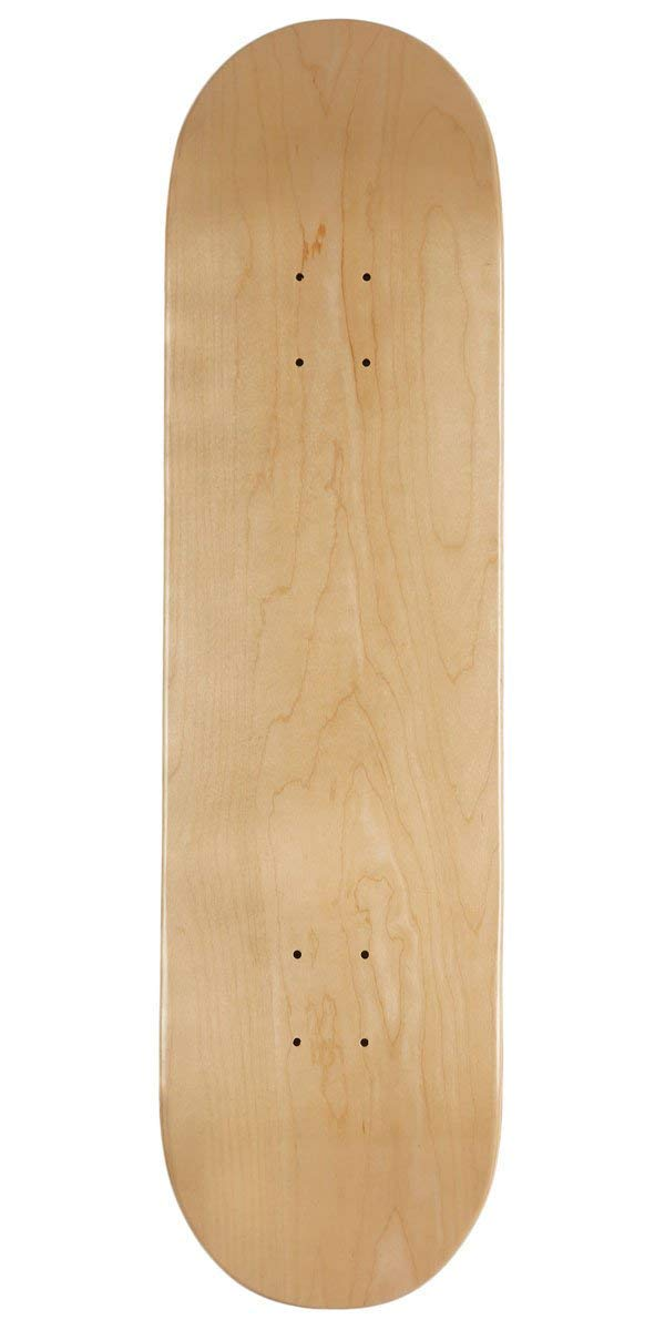 3. Natural Wood Blank Skateboard Deck by CCS