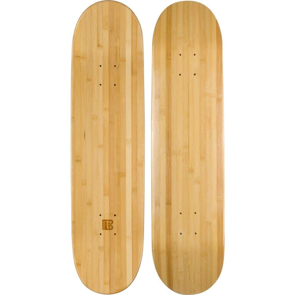7. Blank Skateboard Deck by Bamboo Skateboards