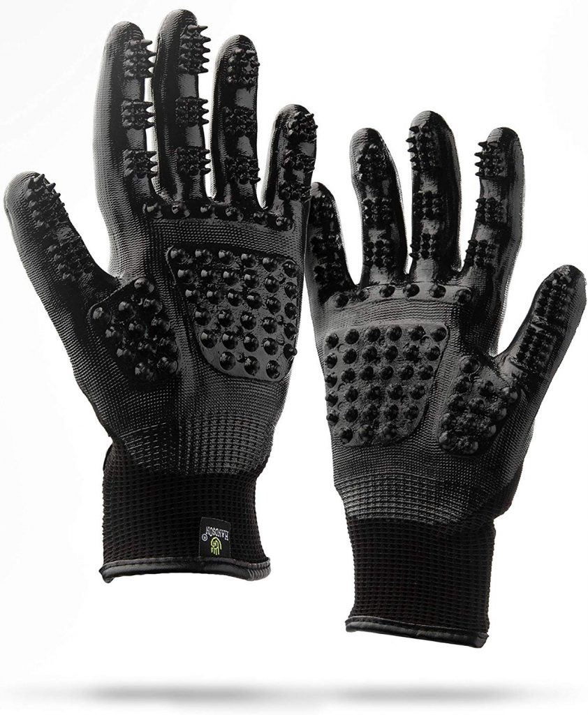 10. HandsOn Gloves for deshedding