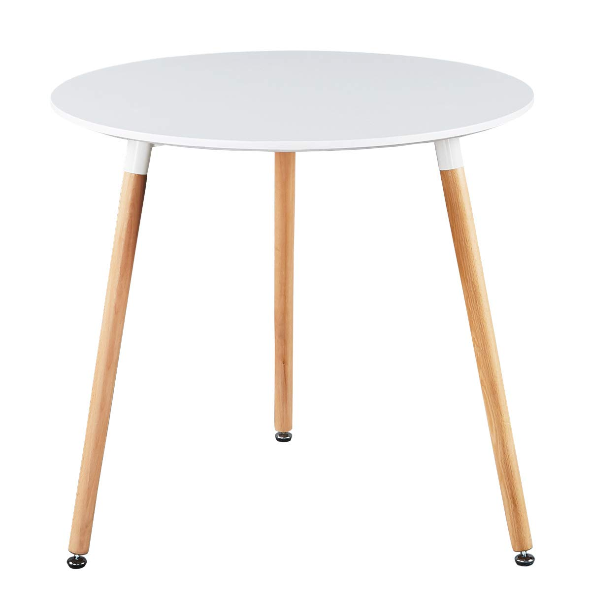 5. GreenForest White Dining Table