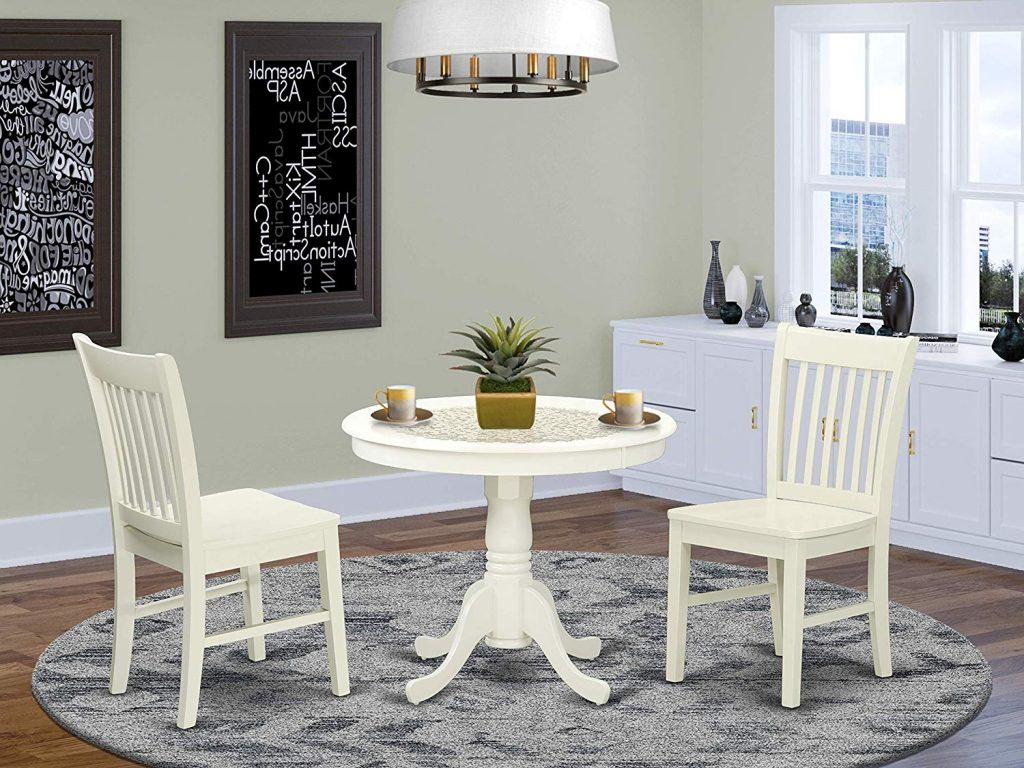 10. Kitchen table set by East West Furniture