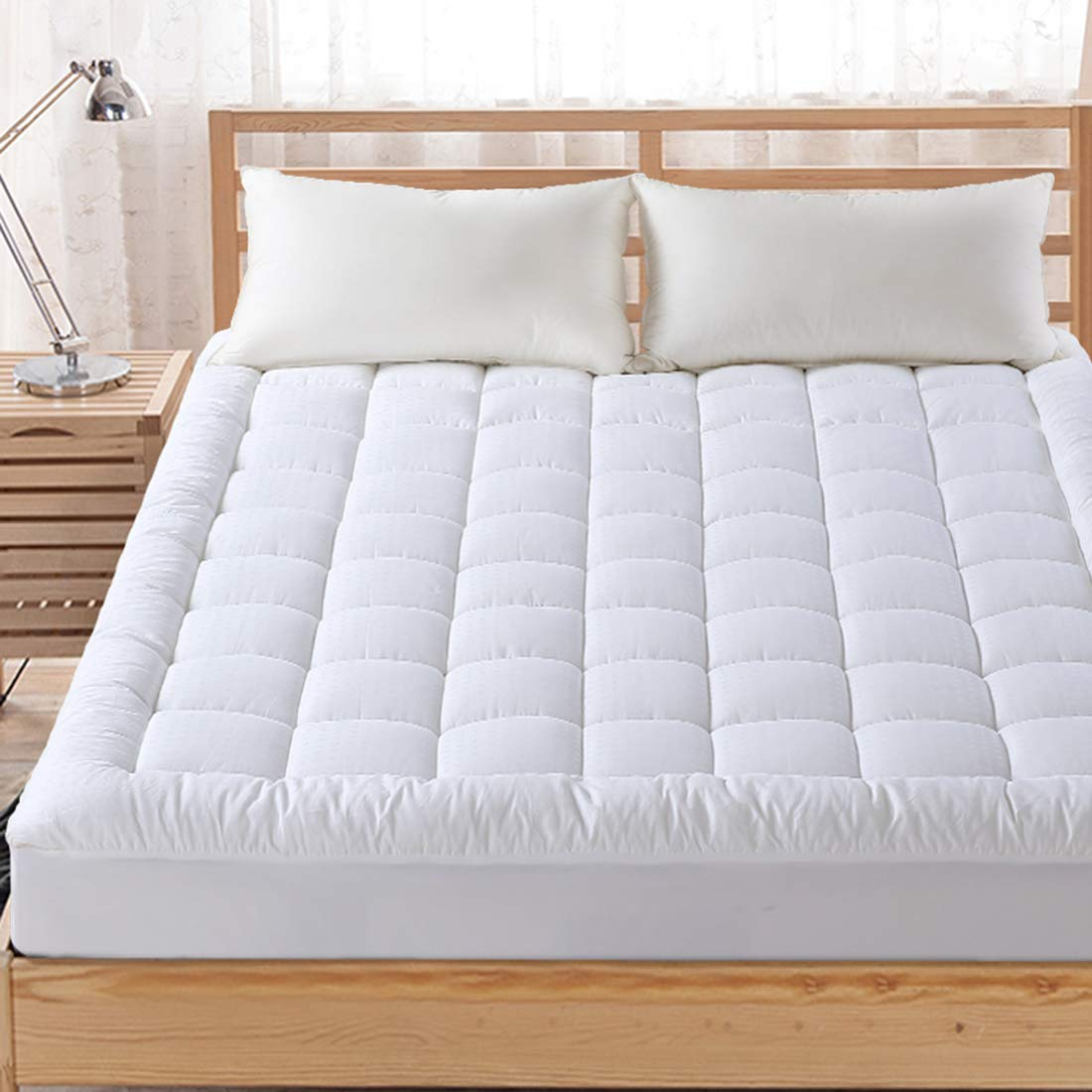 4. FAIRYLAND Twin XL Mattress Topper