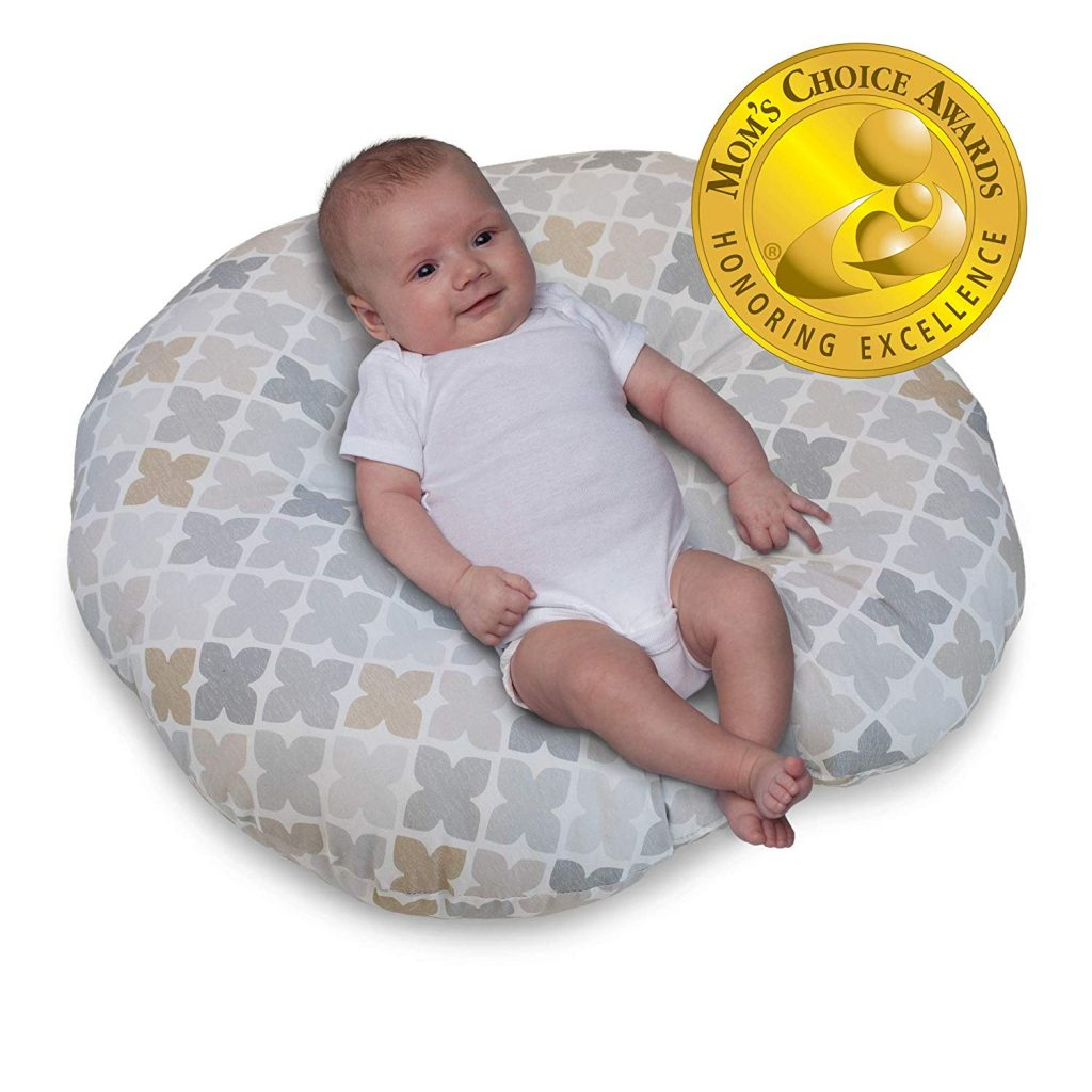 6. Boppy Four Square Newborn Lounger