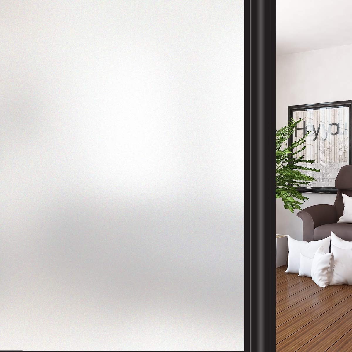 10. HIDBEA Privacy Window Film