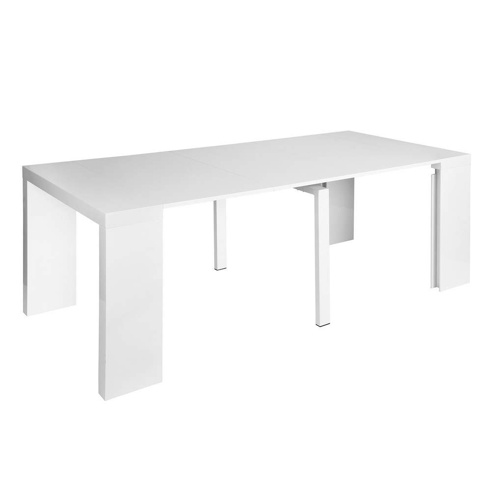 9. HOMY CASA Extensible Dining Table