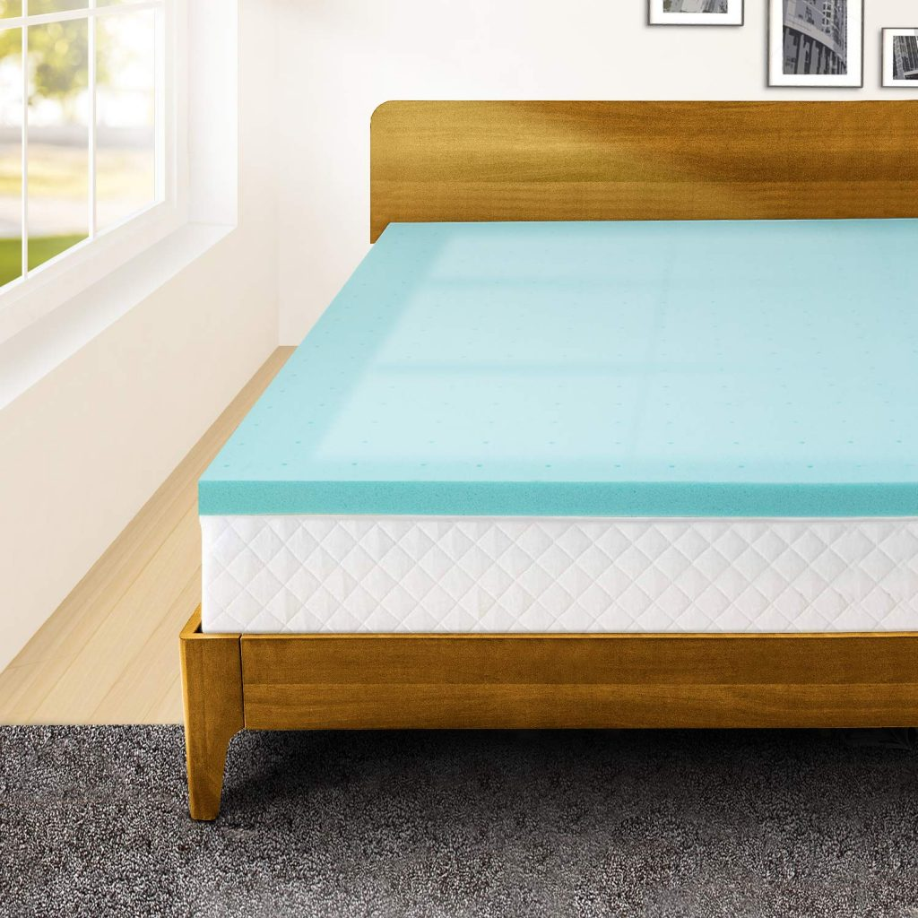 10. Memory Foam Twin XL Mattress Topper