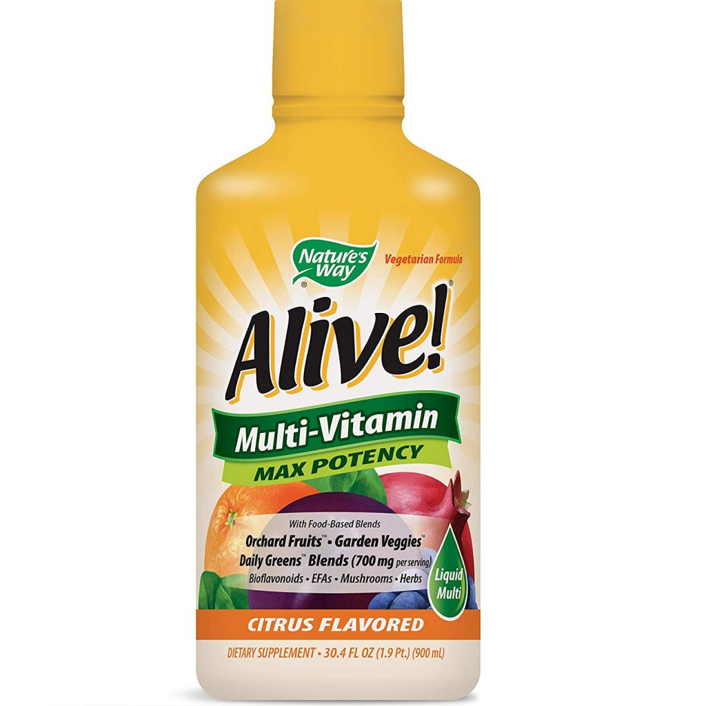 10. Nature's Very Alive! Multivitamin Citrus Flavor