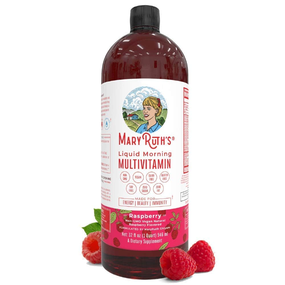 4. MaryRuth Organics Morning Liquid Vegan Vitamins