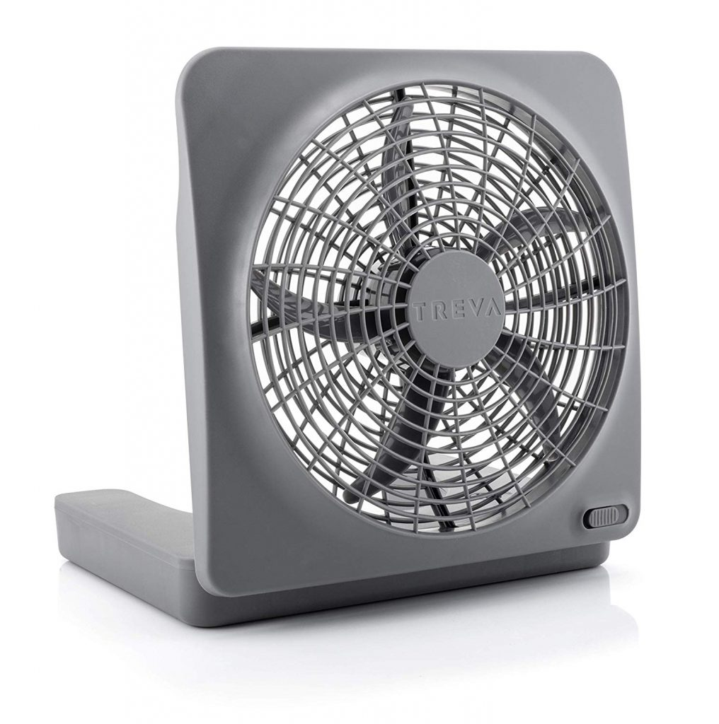 2. O2COOL 10-inch Portable Fan