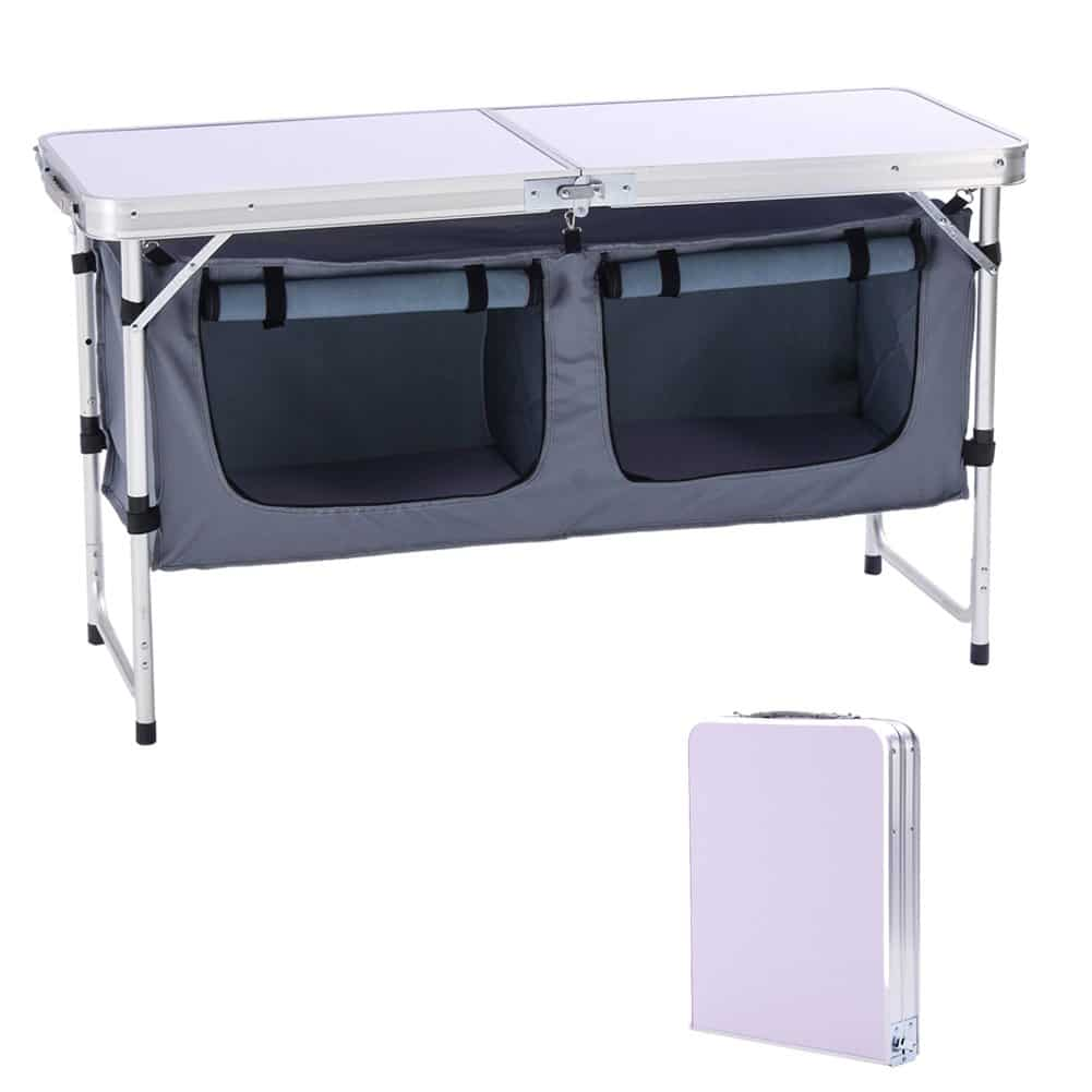 7. CampLand Outdoor Folding Table