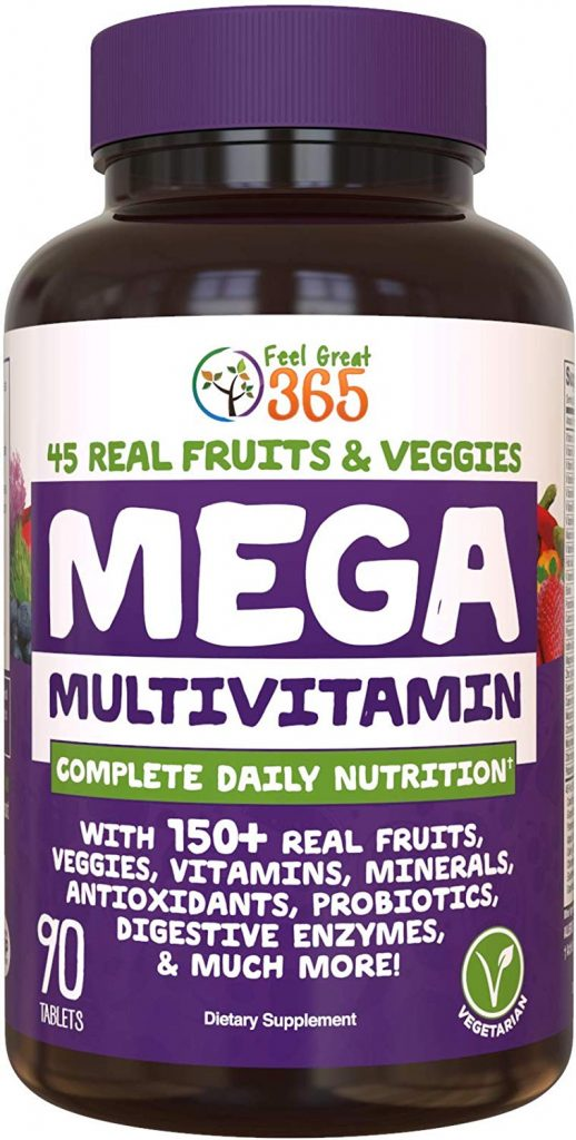 6. Feel Great 365 MEGA Multivitamin 150