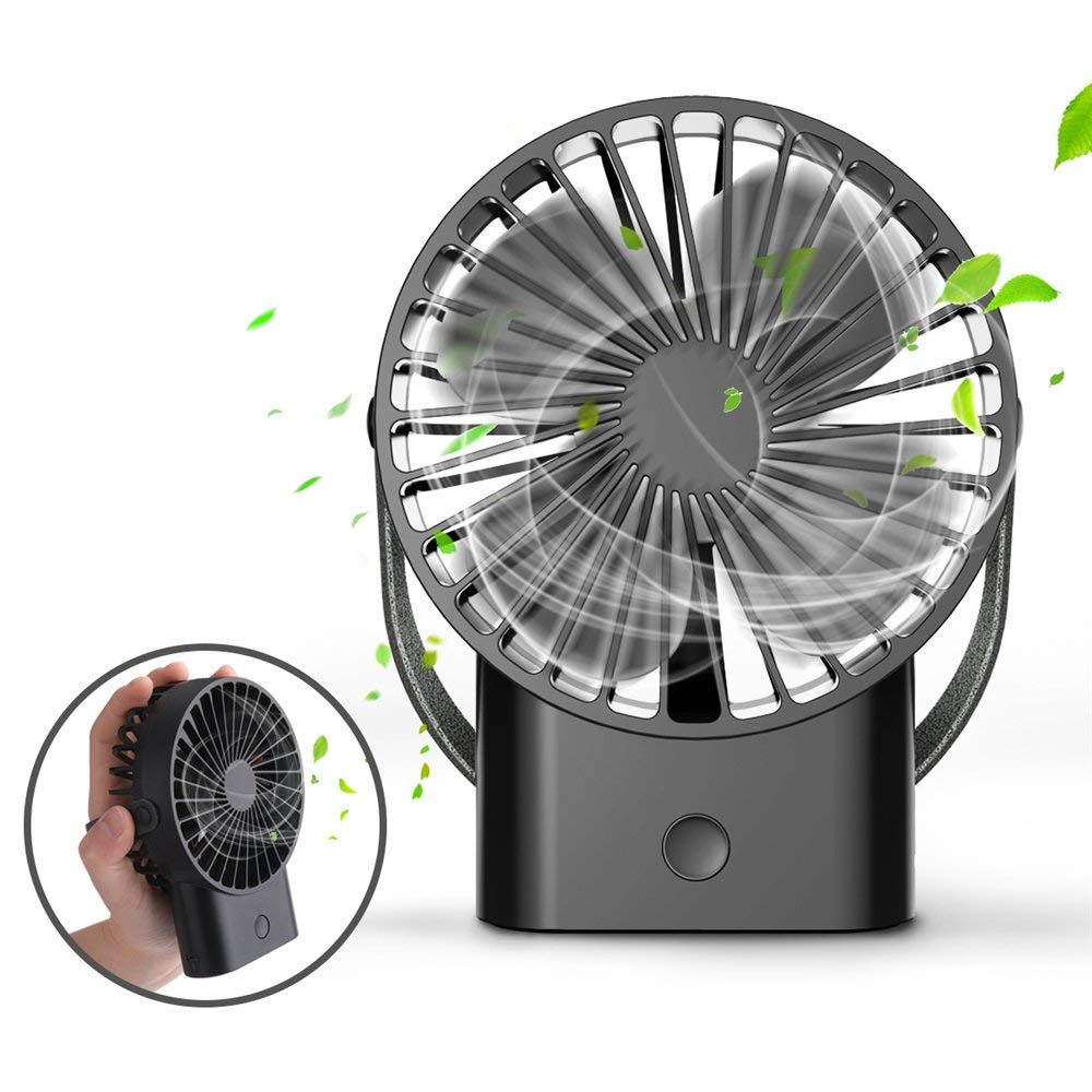 6. ROCK SPACE Mini Handheld Fan