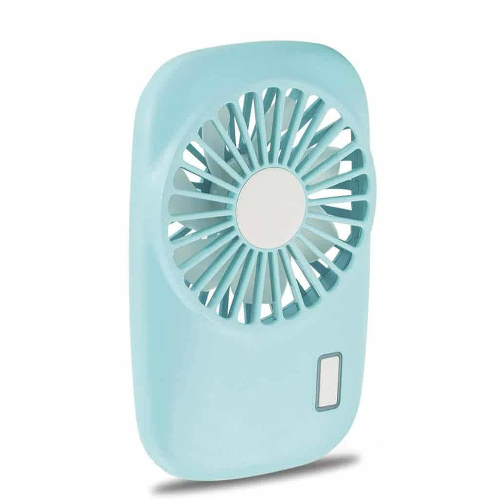 3. Aluan Powerful Small Personal Portable Fan