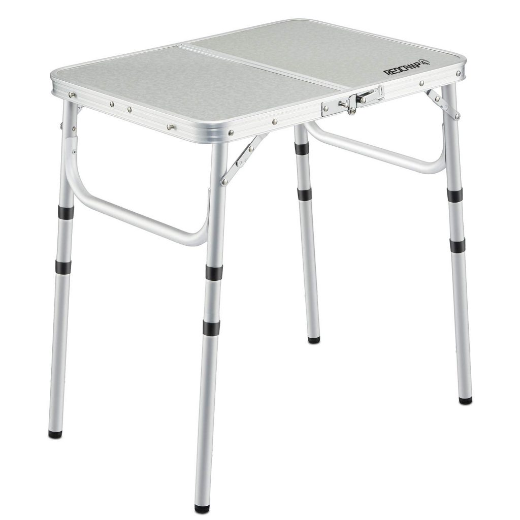 2. REDCAMP Small Folding Table 2 Foot