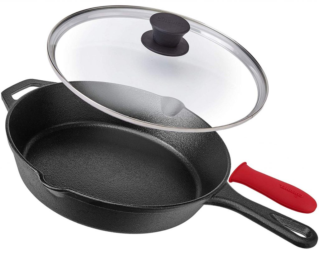 6.Cuisinel Pre-Seasoned Cast Iron Skillet