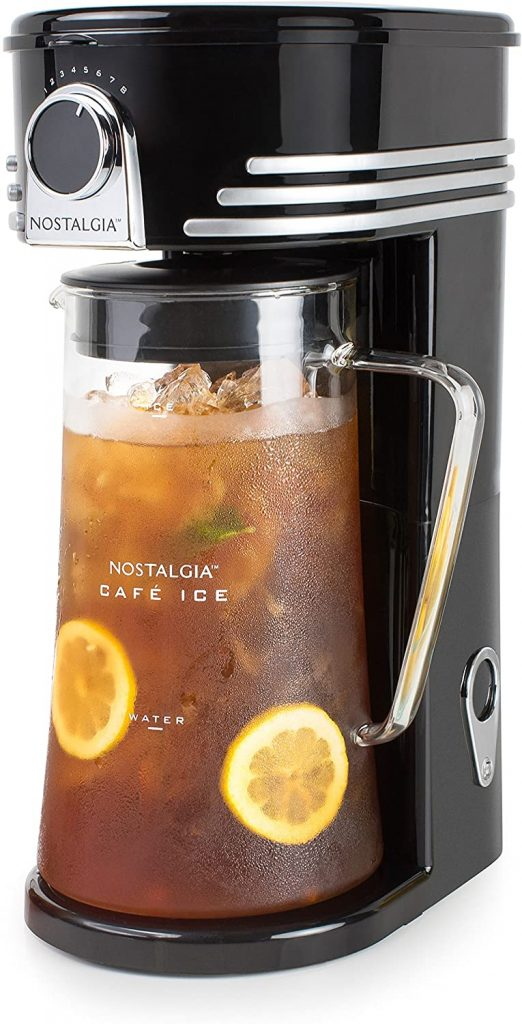 9. Iced Coffee Maker and Tea Brewing System by Nostalgia