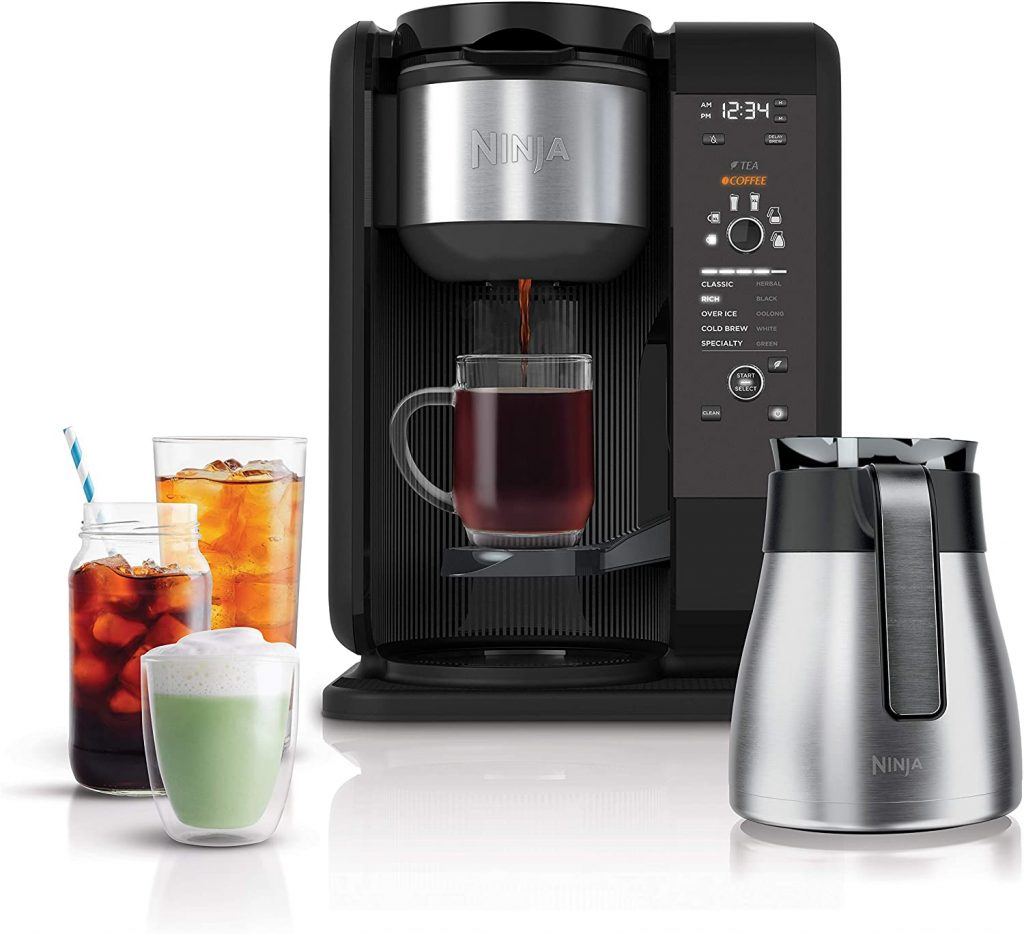 5. Hot and Cold Tea and Coffee Maker by Ninja