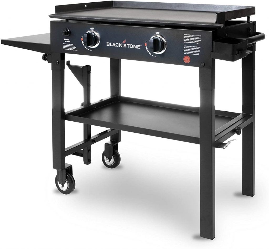 2. Blackstone Gas Grill Griddle Station