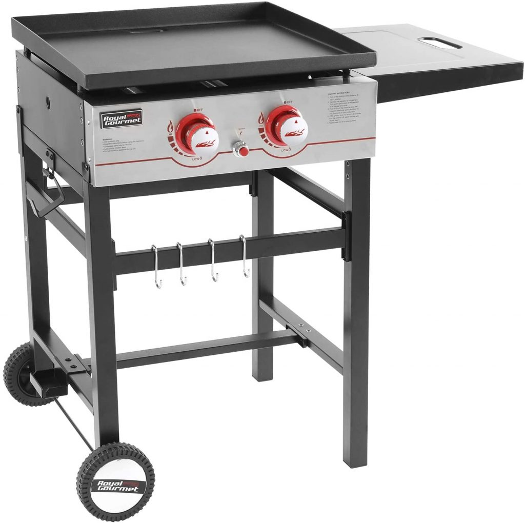 10. Royal Gourmet Regal Propane Gas Grill Griddle