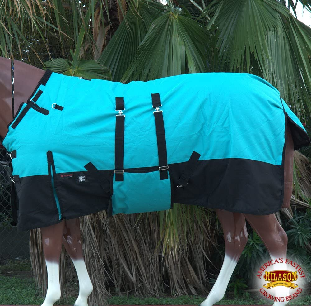 6. HILASON Winter Poly Horse Blanket